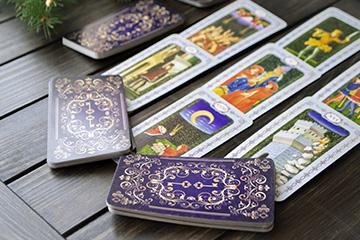 Le tirage des cartes
